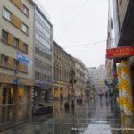 セルビア:ベオグラード】思いがけず通りかかった空爆跡