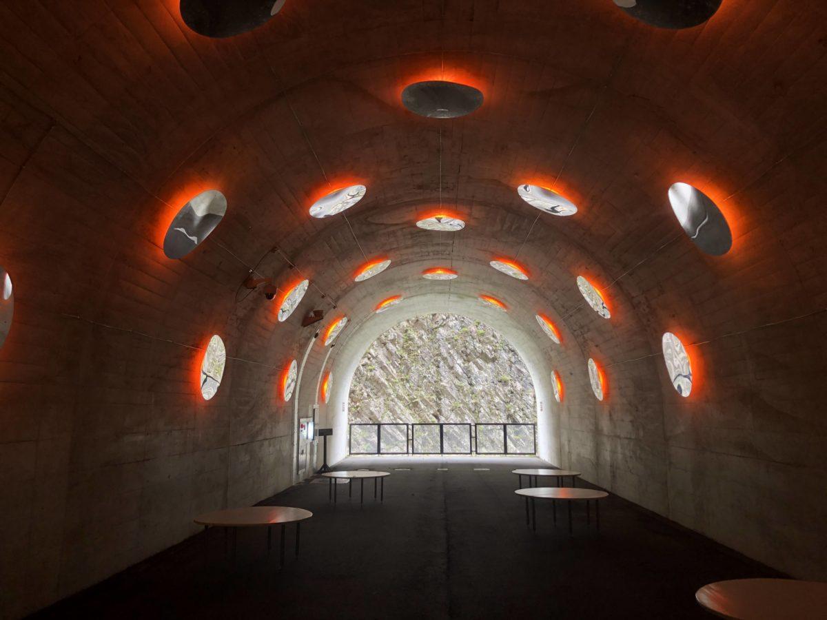 清津峡トンネル第3展望台